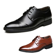 CCC mens Wedding Oxford Faux leather brogues Office Smart casual Shoes Size 5-13