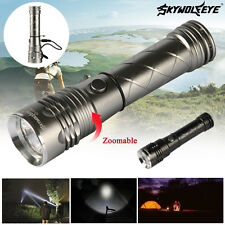 Zoom 2800LM 4-Modes CREE XML T6 LED Flashlight Torch Light + Camping Light SO #1