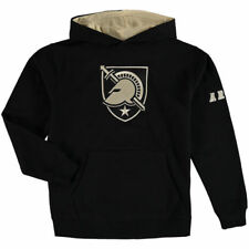 Army Black Knights Youth Big Logo Pullover Hoodie - Black - NCAA