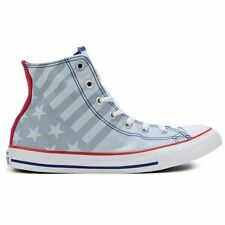 Converse Chuck Taylor All Star Hi Grey Kid Low Top Trainers Canvas