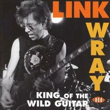 LINK WRAY - KING OF THE WILD GUITAR USED - VERY GOOD CD