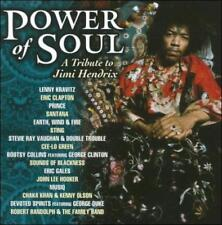VARIOUS ARTISTS - POWER OF SOUL: A TRIBUTE TO JIMI HENDRIX USED - VERY GOOD CD