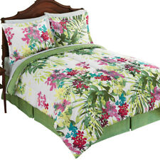 St. Bart's Tropical Garden Comforter Set, by Collections Etc