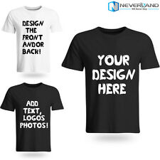 Custom Your Own Design Photo Text Logo Personalized Printed Mens Basic T-Shirts