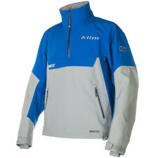 Klim Men's Powerxross Pullover Non-Insulated Gore-Tex Snowmobile Jacket - Blue