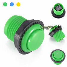 """24mm 1"""" Mini Round Push Button Gamming Buttons For Arcade Game Mame DIY Replace"""