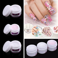 Pro Nail Art Tips Tools 3D Acrylic Powder Crystal Nail Polymer Long Lasting 1X