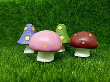 Fairy Garden Toadstool Miniature Tiny Friends Toadstools in Gift Bags Fairy