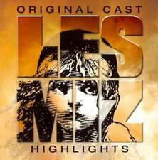 LES MIS'RABLES [ORIGINAL LONDON CAST] [HIGHLIGHTS] USED - VERY GOOD CD