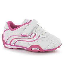 Girls Lonsdale White Pink Infant Trainers Sizes UK Infant 5-9