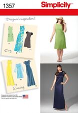 Free UK P&P - Simplicity Ladies Sewing Pattern 1357 Day to Evening Dresse...