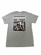 Georgia Bulldogs Vintage Football Banner T-shirt