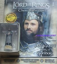 LORD OF THE RINGS CHESS PIECES - ALL BOXED AND ALL WITH MAGAZINES - NEW & UNUSED