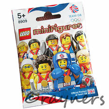 (Factory Sealed) Choose Your 8909 LEGO Team GB Olympic Minifigure London 2012