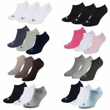 3 Pairs PUMA SNEAKER Invisible Socks Size 35 - 49 Unisex for Unisex Boot