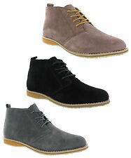 Cotswold Classic Soft Suede Leather Lace Up Mens Desert Boots UK6-12
