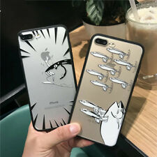 New Fish Funny Back Hard PC Cover Protective Phone Case For iphone 6 6S 7 Plus
