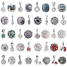 925 Silver Charms Bead Pendant Fit European Sterling Bracelets Necklace Jewelry