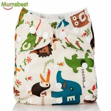 Washable Baby Cloth Diaper Cover Waterproof Cartoon Diapers Reusable Nappy