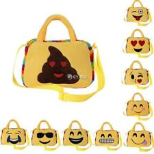 Kids Emoji Face Backpack Purse Girl Boy School Shoulder Bag Crossbody DZ88