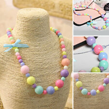 Kids Jewelry Fashion Necklace Pretty Imitation Pearl Children Girls Child