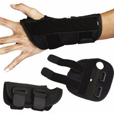 Breathable Wrist Support Brace Carpal Tunnel Splint Guard Injury Sprain Guard LC
