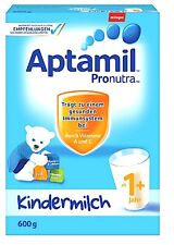 5 x 600 gr Aptamil 1+ or 2+   Kindermilc / German Milk Powder shipping worldwide