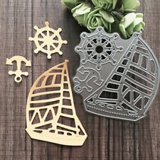 Cute Cars Boats DIY Metal Die Cutting Scrapbook Stencil Album Letter Cards Decor