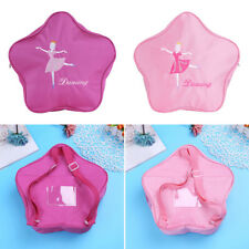New Cute Kid Girls Backpack Schoolbag Flower Shape Dance Outdoor Embroidered Bag