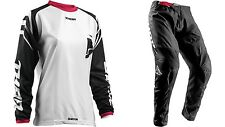 NEW THOR MX WOMENS SECTOR ZONES BLACK PINK ADULT RACE GEAR COMBO JERSEY PANTS