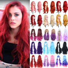 60Cm Colorful Cosplay Full Wig Long Hair Anime Party Costume Cosplay Wig G63