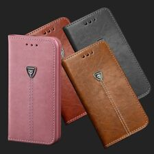 For Samsung Galaxy Note Edge S45678 Plus Genuine Leather Wallet Stand Case Cover