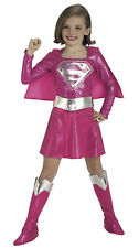 Supergirl Deluxe Pink Superhero Girls Costume