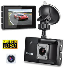 New 3'' LCD HD 1080P Car DVR Vehicle Video Recorder Camera Dash Cam Night Vision