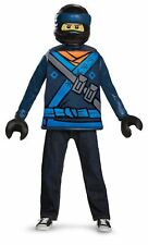 Classic Jay CHILD Boys Costume NEW The Ninjago Movie Ninja Lego