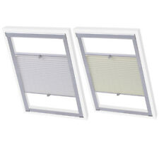 Velux Skylight Loft Roof Window Pleated Blinds Covers Fabric Multi Colours/Sizes