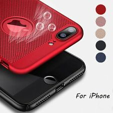 Ultra Thin Shockproof Heat Dissipation Matte Case PC Hard Back Cover For iPhone