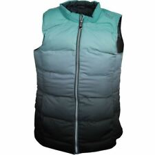 Island Green Padded  Sleeveless Gilet 14,16 Mint Green -  Grey Sublimation New