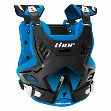 Thor Sentinel GP Chest Protector Roost Guard Black/Blue Motocross Offroad Adult
