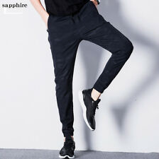 Camouflage Men's sports pants Men's trousers Loose waist feet casual pants