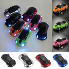 Cool Car Shape Wireless Cordless Optical Mouse Mice USB Receiver for PC Laptop