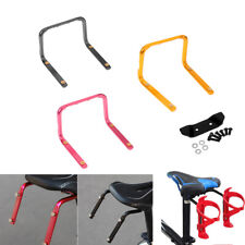 Bicycle MTB Bike Seat Post Rear Double Water Bottle Holder Cage Rack Adapter
