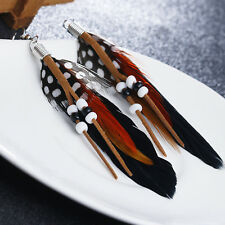 Tassel Feather Earring Bohemia Style Multicolor Selection Fashion Woman Jewelry