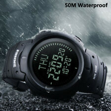 2017 SKMEI New Fashion Compass Watches 5ATM Water Proof Digital Stopwatch Watch