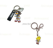 Sonic The Hedgehog Official Genuine Anime Metal Key Chain *NEW*