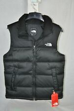 NEW THE NORTH FACE MENS NUPTSE VEST BLACK 700 FILL DOWN INSULATED WARM