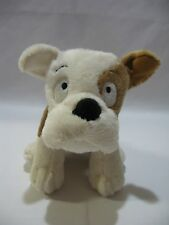 "Hallmark Puppy Dog Plush Stuffed Animal 9"" Toy Brown Cream Soft Sewn Eyes"