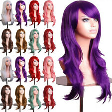 Top Women Fancy Party Cosplay Wig Real Thick Synthetic Hair Curly Wave Hair Wigs