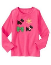 NWT Gymboree Girls Cheery All The Way Pink Top Size 4 5 6 8