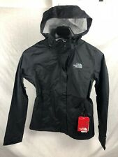 NEW THE NORTH FACE VENTURE JACKET BLACK WOMENS SHELL RAIN FREE FAST SHIP S-3XL